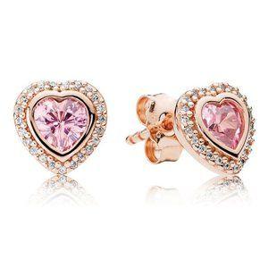🔥Pandora🔥 Rose™ Sparkling Love Earrings